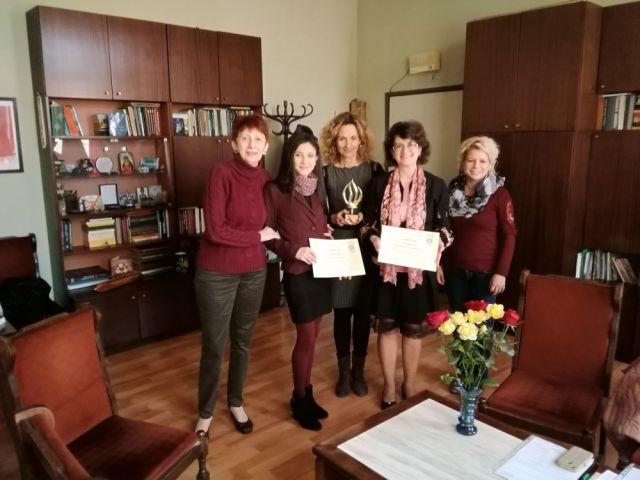 Анета Иванова – член на Съюза на учените в България