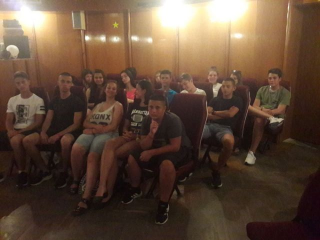 """Ученици от СПГСГ """"Арх. Г. Козаров"""" се включиха в Национална програма """"Отново заедно"""" [26.07.2021]"""