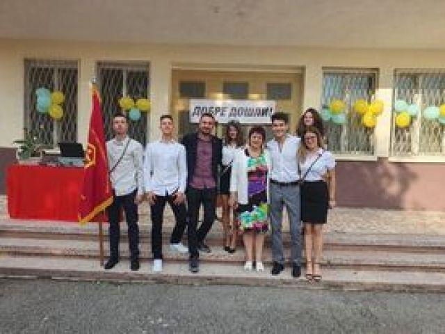 """Тържествено откриване на учебната 2021/2022 година при СПГСГ """"Арх. Г. Козаров"""" – Сливен. [15.09.2021]"""