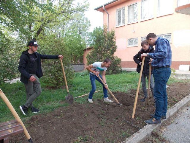 """Световния ден на Земята в СПГСГ """"Арх. Георги Козаров"""""""