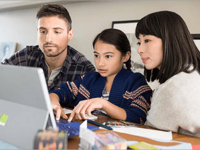 Отдалечено обучение с Teams на MS Office 365. Указания за родители и настойници